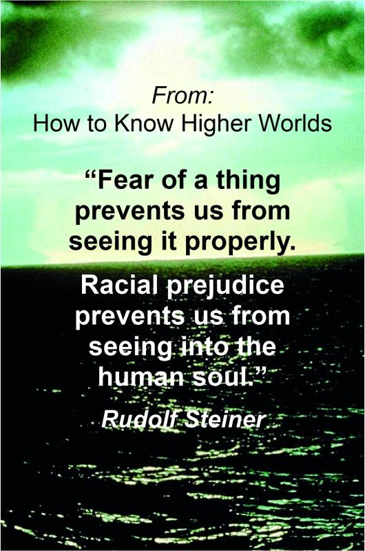 Fear Prejudice R. Steiner