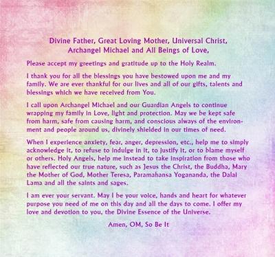 Prayer to the Divine